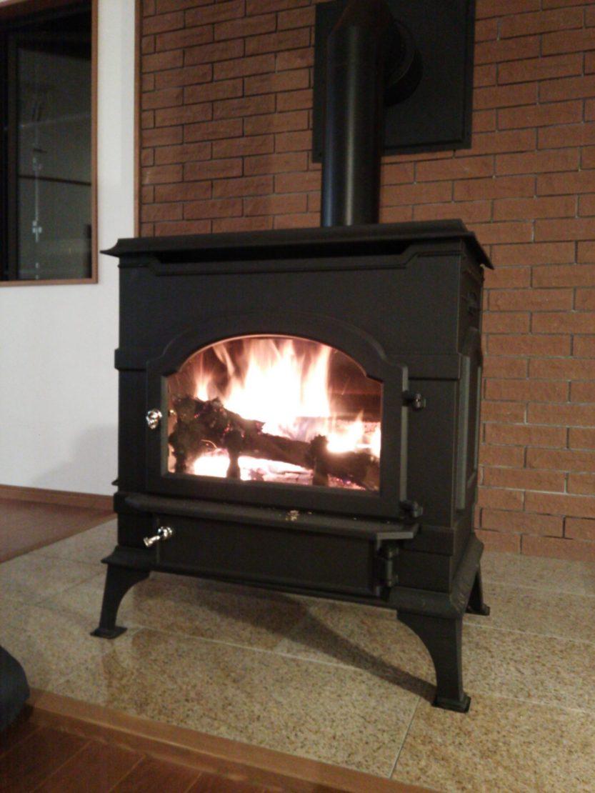 暖炉点火!